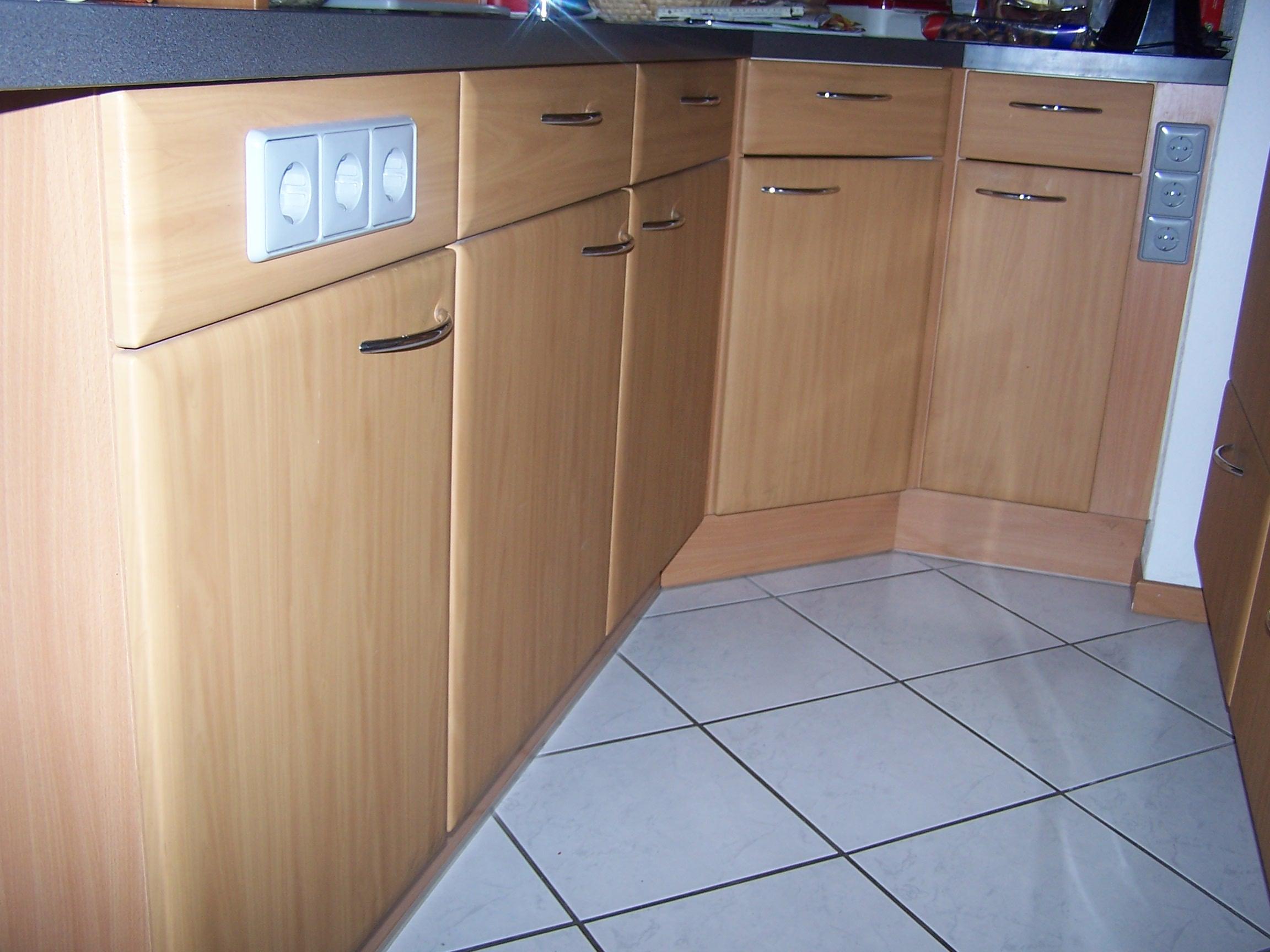 tausche erle gegen spiegelglanz - küchenfront 24
