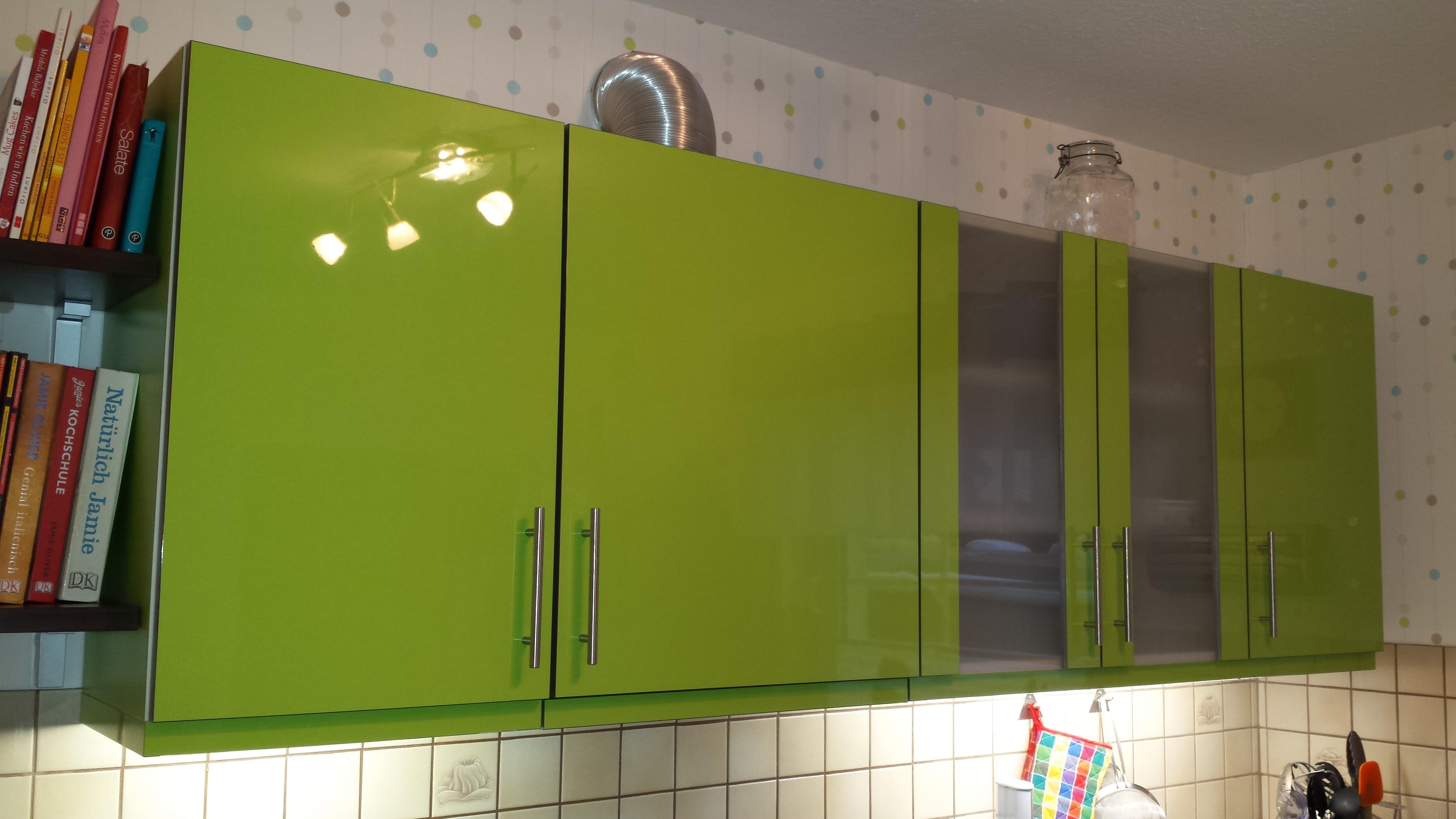 Charmant Hochglanz Weiß Küchenschranktüren Bilder - Ideen Für Die ...
