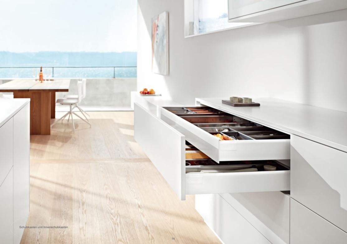 Griffloses Öffnen - Küchenfront 24
