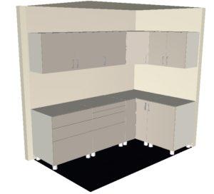 Preisbeispiel: Fronten passend für Ikea Metod Küche