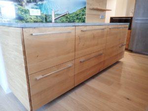 Massivholzfronten passend für Ikea Metod Küchen