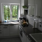 Neues Küchengefühl mit Fronten in Glasopik